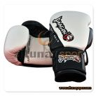 Carbon Boxing Glove White - Black